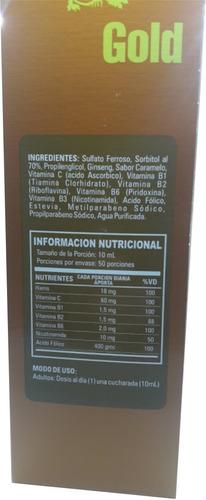 vitafer super potency 500 ml. x 2 unidades