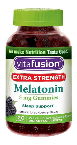 vitafusion extra strength melatonin gummies,