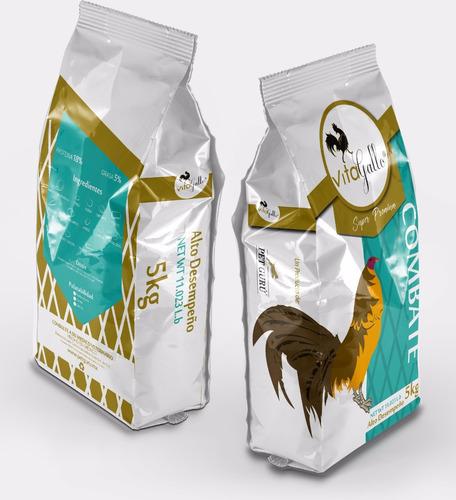 vitagallo combate alimento para gallo 5kg petguru