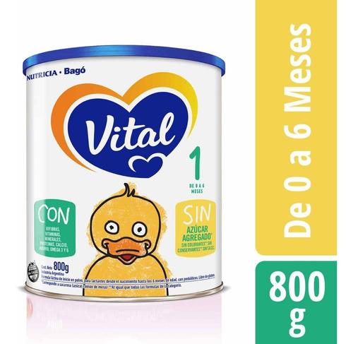 vital 1 bebe leche en polvo lata x 800grs