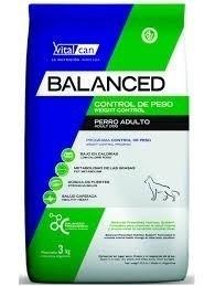 vital can balanced control de peso all ages x 20kg