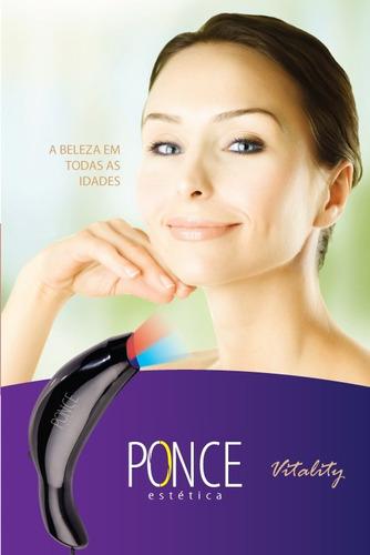 vitality profissional fototerapia led acne manchas olheiras