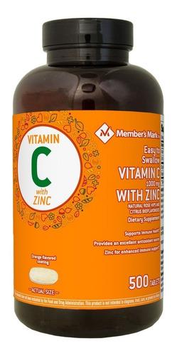 vitamin c 1000mg x500 / omega 3-6-9 members mark /l-arginine