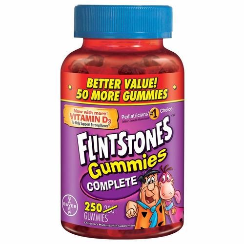 vitamina americana niños flintstones completa, 250 gomitas