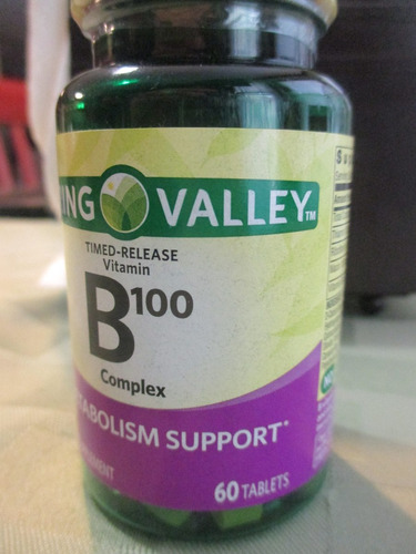 vitamina b 100 marca sping valley importado de usa
