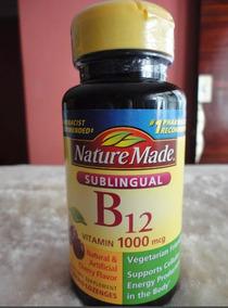 vitamina b12 sublingual