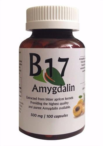 vitamina b17 de 500 mg marca nature's importado