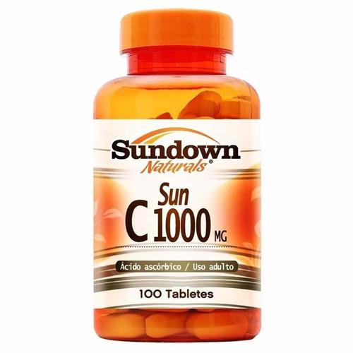 vitamina c 1000 mg - 100 tabletes - sundown
