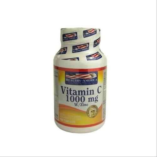 vitamina c 1000 mg con zinc  original sellado x dos frascos