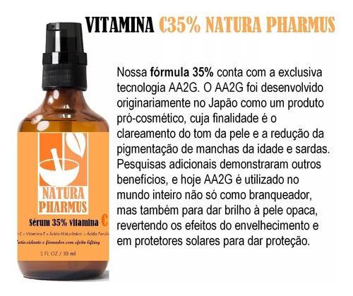 vitamina c 35% + ferúlico+ vit e - natura pharmus - 30 ml