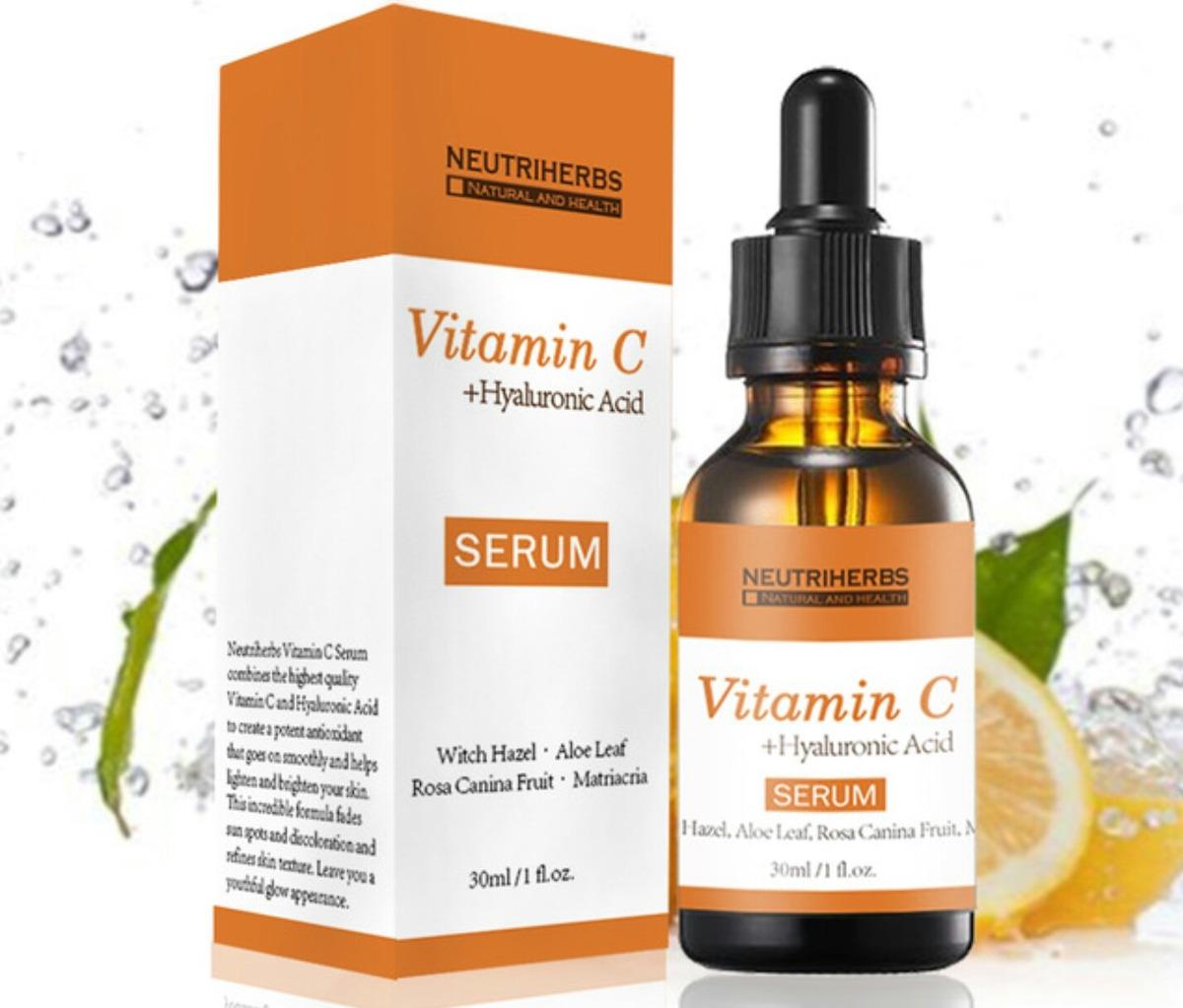 Conforama Aparador Atlanta ~ Vitamina C + Acido Hialuronico Neutriherbs Colageno 30ml R$ 139,90 em Mercado Livre