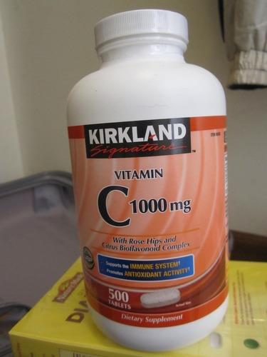 vitamina c de 1000 mg marca kirkland