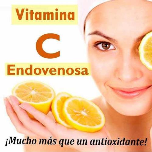 vitamina c endovenosa + plasma rico en plaquetas