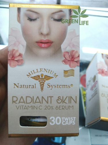vitamina c facial y serum radiant skin x30 twis caps systems