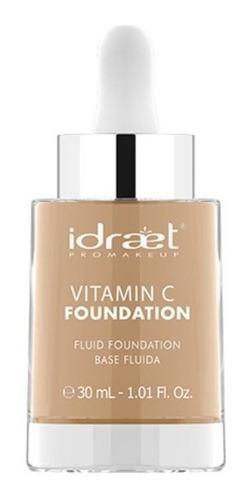 vitamina c foundation base fluida hd alta cobertura idraet