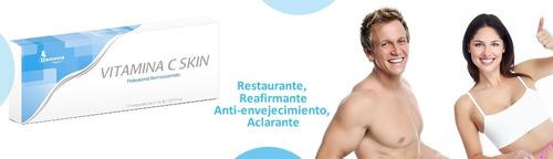 vitamina c inyectble reafirmante aclarante antioxidante 2ml