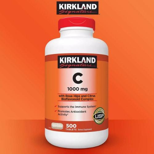 vitamina c kirkland 1000 mg x 500 tab.+ envio gratis