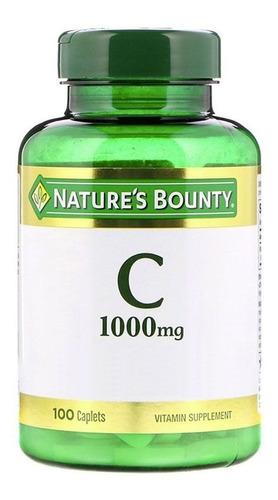 vitamina c  nature's bounty super oferta 100 tabletas usa