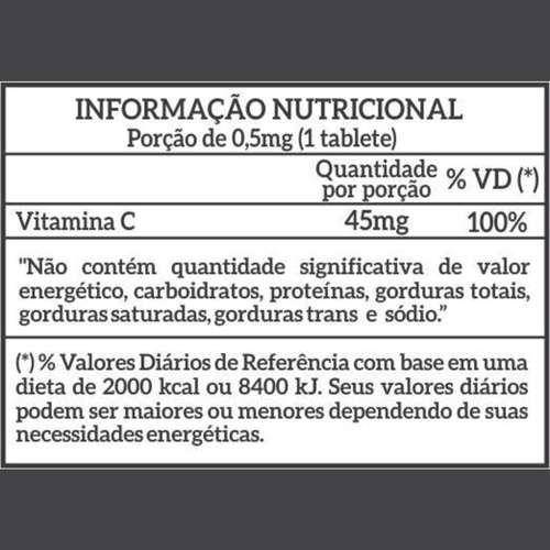 vitamina c newnutrition 120 tabletes