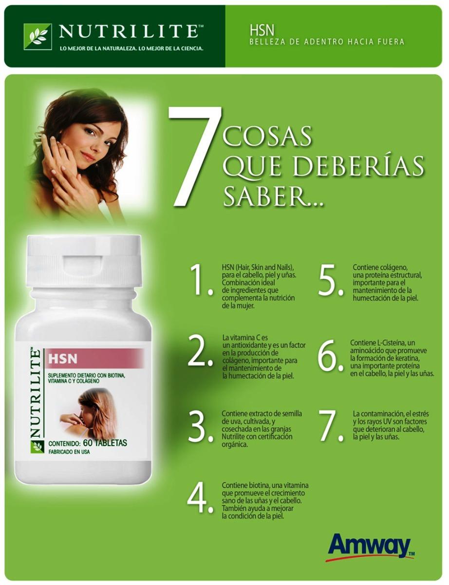 Vitamina D Hsd Cabello Uña Y Piel Vegetal (natural)nutrilite - $ 340 ...