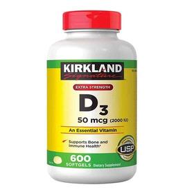 Vitamina D3 600 Softgel De 2000 Ui Iu Maxima Fuerza