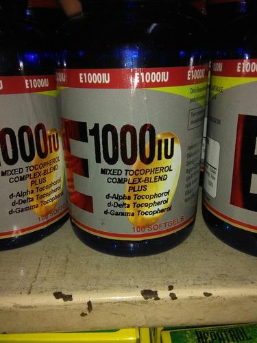 vitamina e 1000iu x 100  perlas berkly