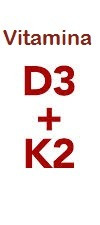 vitamina k2 mk7 100mcg + vitamina d3 10000ui 60 cápsulas