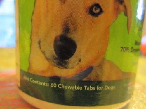 vitamina masticable para perro marca green dog naturals