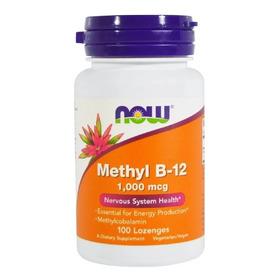 Vitamina Methyl B12 Metilcobalamina 1000mcg 100 Caps Now Eua