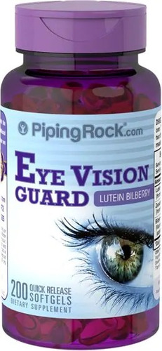 vitamina para la vista luteina zeaxantina 200 caps de eeuu