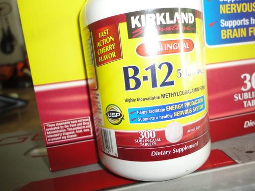 vitamina sublingual b12 de 5000 mcg marca kirkland import
