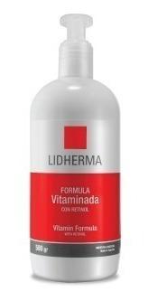 vitaminada con retinol para el cuerpo lidherma