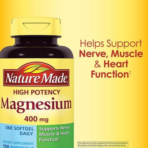 vitaminas de magnesio de 400 mg