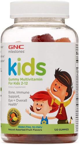 vitaminas gnc kids multi gummy para niños - 120 gomitas