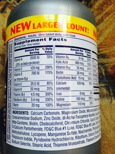 vitaminas one day dama i varón traídas de usa exelentes