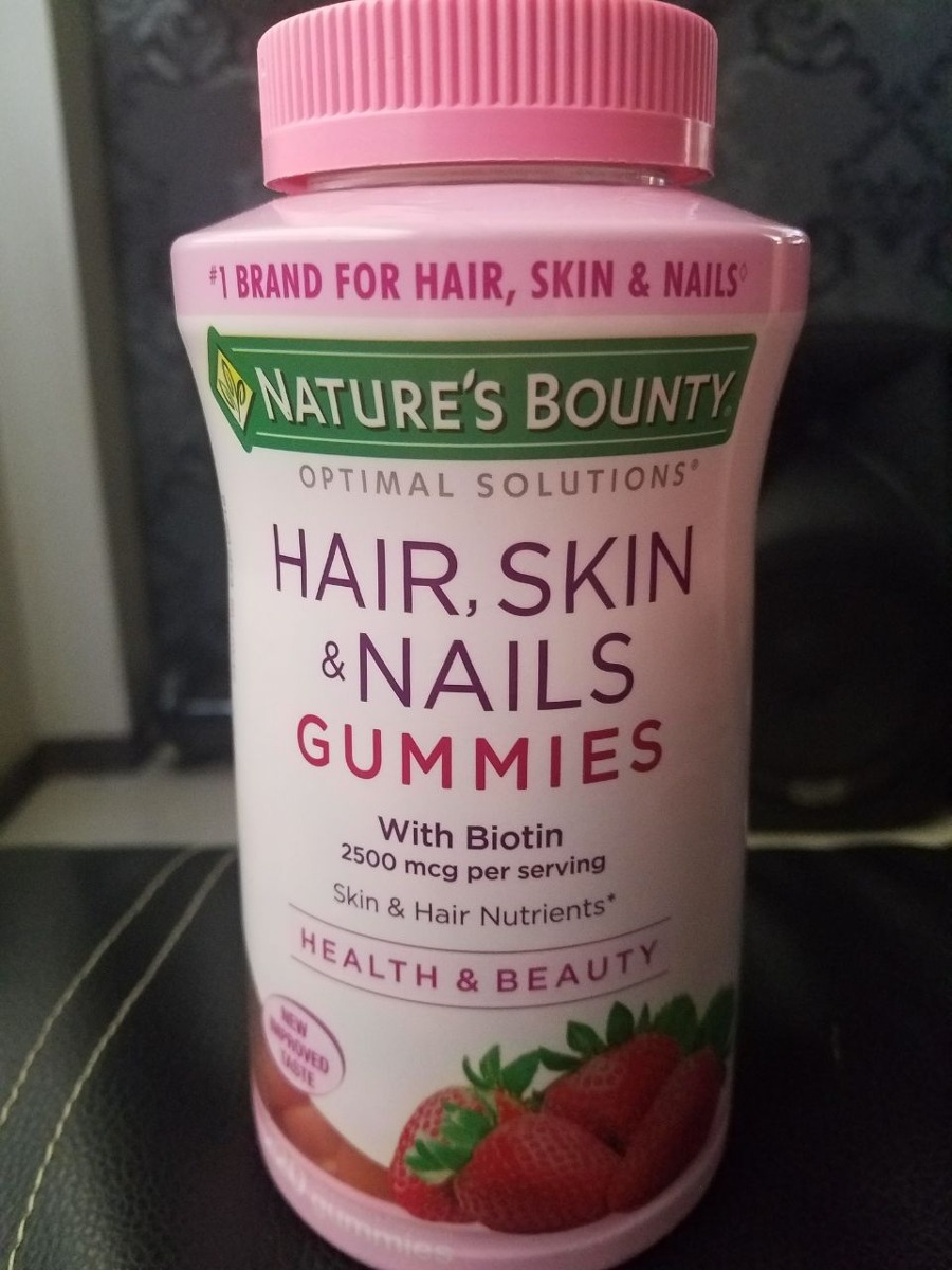 Vitaminas Para La Piel El Cabello Y Uñas Natures Bounty