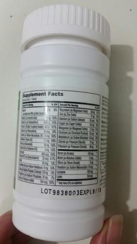 vitaminas sentry senior de 50 años a más para mujer