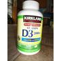 Vitamina D3 2000 Iu Marca Kirkland