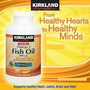 Omega 3 400 Sofgels Americano Kirkland Fish Oil 1000mg