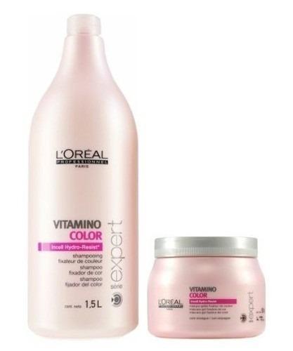 vitamino color kit profissional loréal - 2 produtos