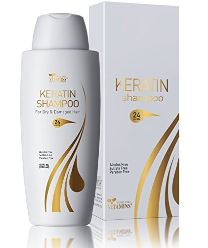 vitamins keratin shampoo protein hair treatment - exclusive
