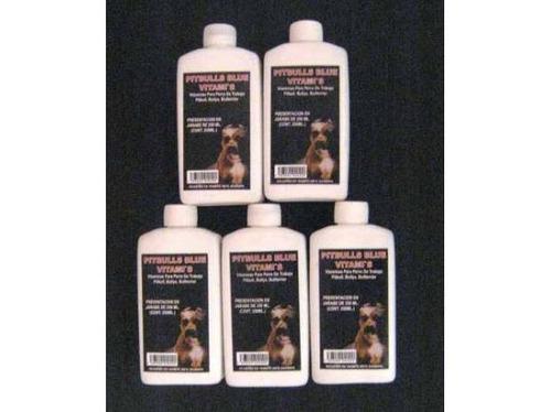 vitamins pitbulls  blue jarabe vitaminado