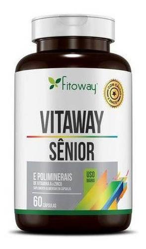 vitaway - sênior - 60 cápsulas