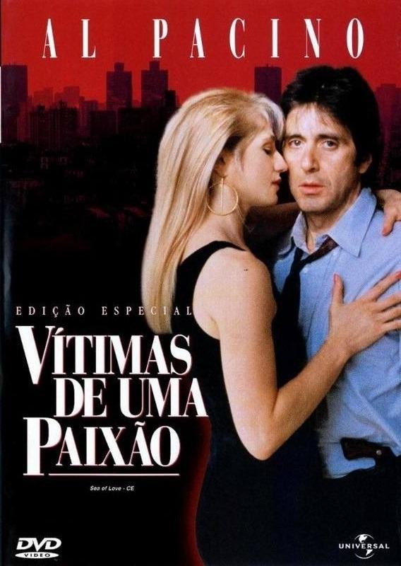 Vitimas De Uma Paixao Sea Of Love Dvd Lacrado Al Pacino