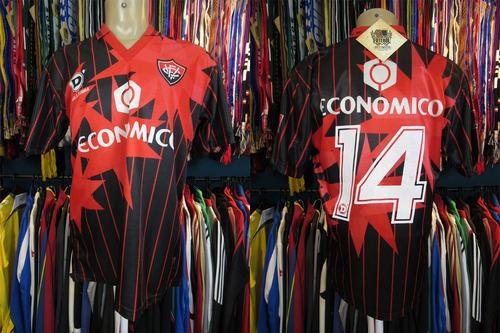 vitória 1995 camisa titular tamanho g número 14.