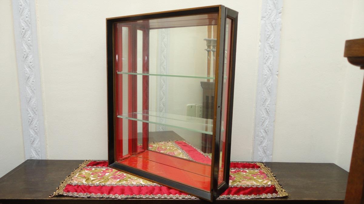 Vitrina antigua japonesa para miniaturas con llave mirala - Vitrinas para miniaturas ...
