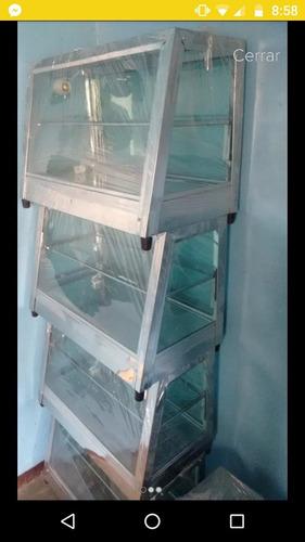 vitrina calefacción, empanadas (calentador eléctrico)