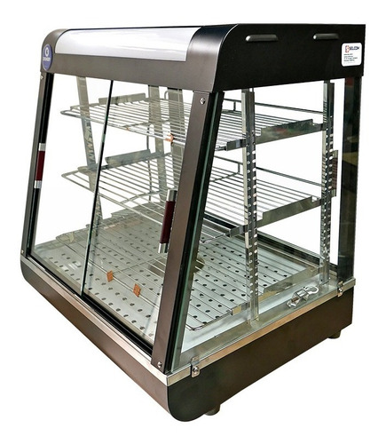 vitrina calentadora y exhibidora de alimentos nueva tienda