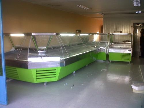 vitrina carnicera cecinas y lácteos cámaras frigorificas