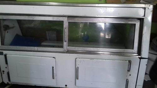 vitrina carnicera de 2m con motor aparte kelvineitor